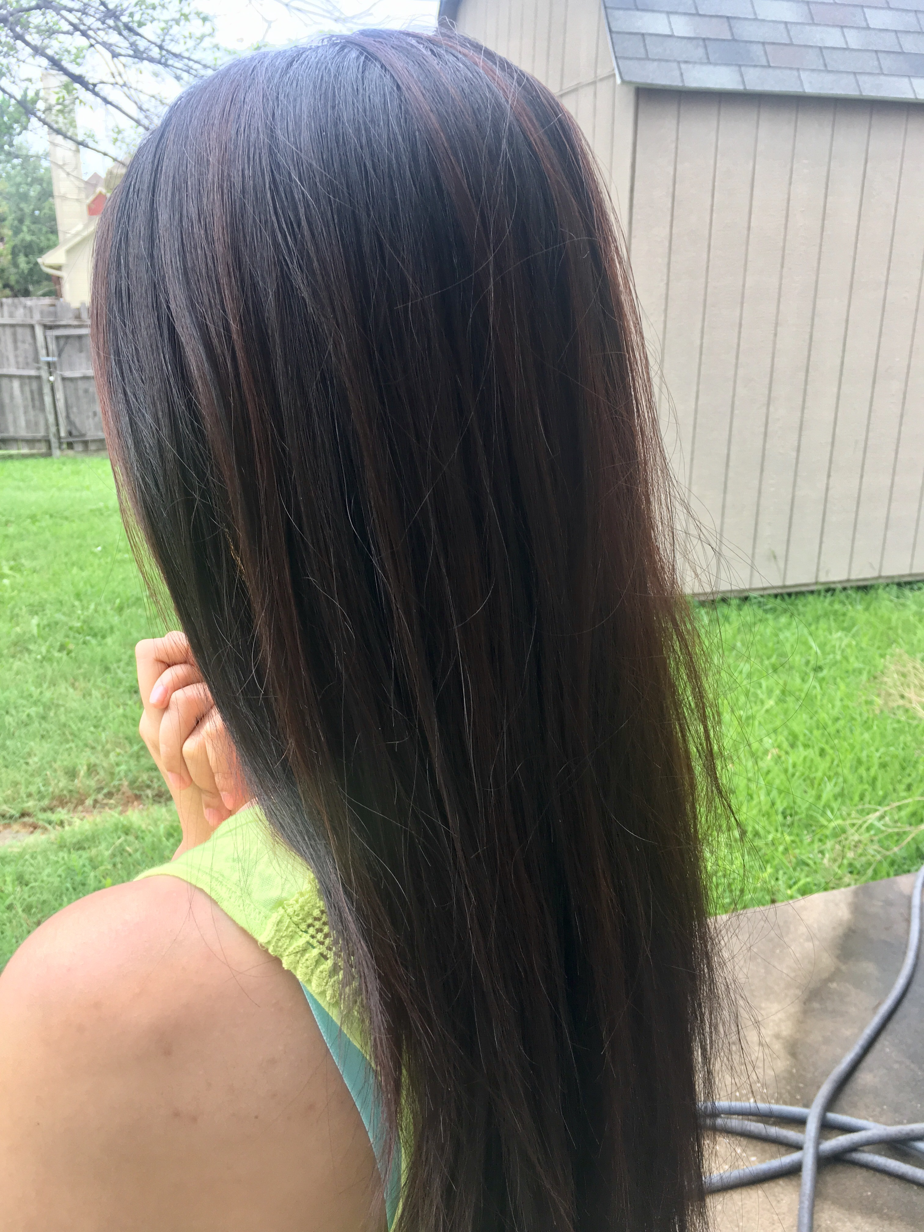 My hair transformation the unabridged sass i used conditioner but no shampoo i then didnt wash my hair for the whole days the day after we did the highlights when pmusecretfo Choice Image